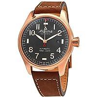 Alpina Startimer Shadow Line Automatic Dial Men's Watch (Grey)