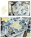 Vintage Zen Botany Flower Washi Sticker Pack