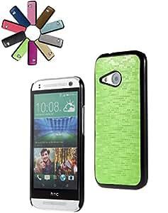Bralexx 6243 Negro-6245 Smartphone verde del carcasa-Karo para HTC uno mini 2 generación verde