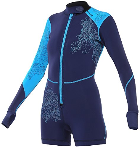Bare Women's Limited Edition 2mm Shorty Wetsuit, Blue, 6 ()