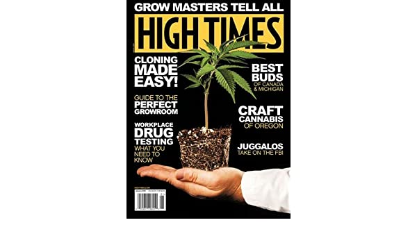 High Times Magazine (January, 2018) Grow Masters Tell All