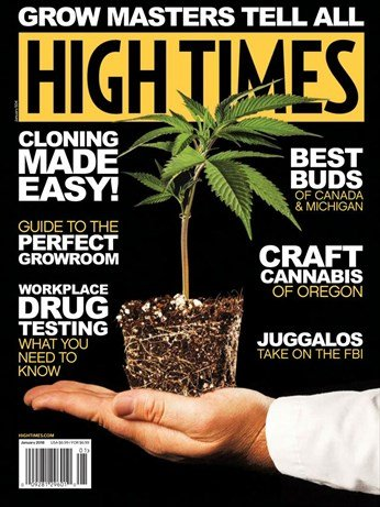 Read Online High Times Magazine (January, 2018) Grow Masters Tell All pdf epub