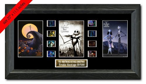 Treble The Nightmare Before Christmas (1993) Filmcell, holographic serial numbered by Filmcell.co.uk