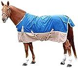 Intrepid International Free Runner Turnout Rain Sheet, Royal Blue, 80''