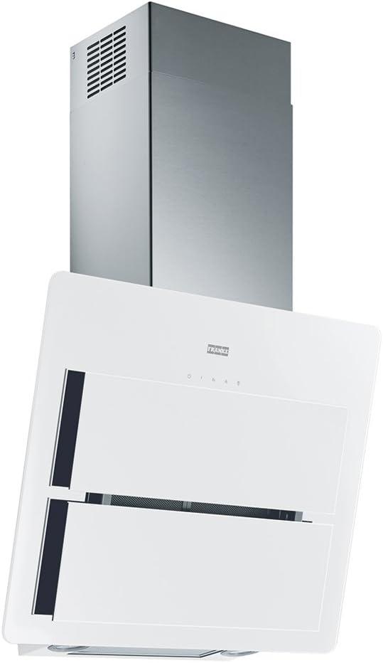 Franke FMA 605 WH A 570 m³/h De pared Blanco C - Campana (570 m³/h, 65 dB, 53 dB, De pared, Blanco, Acero inoxidable): Amazon.es: Hogar