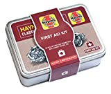 Best 50 piece Haynes travel first aid kit with hypoallergenic plasters in a handy tin - perfect for car