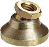 TE-CO 44431 Leveling Pad Zinc Plated, 3/8-16 Thread Size (2-Pack)