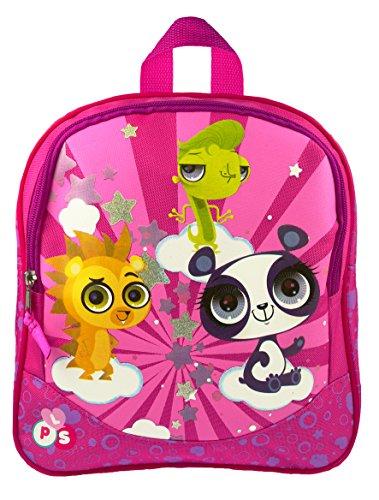 LITTLEST PET SHOP Rucksack Backpack Tasche Schule Schultasche Pink Kinder