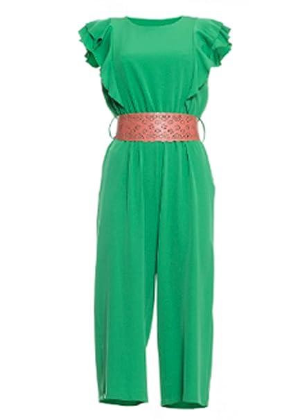 Fracomina FR19SP662 - Chándal para Mujer Verde s: Amazon.es: Ropa ...