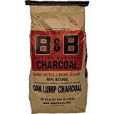 Best Lump Charcoals - B&B Charcoal Oak Lump Charcoal, Flavor Oak, 20 Review