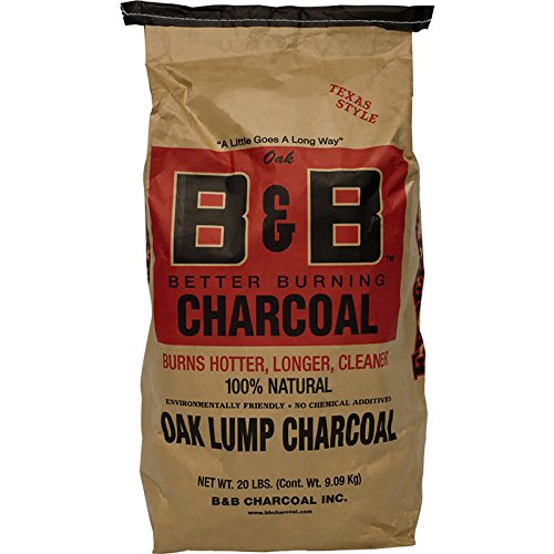 B&B Charcoal Oak Lump Charcoal, Flavor Oak, 20 lbs. by B&B Charcoal