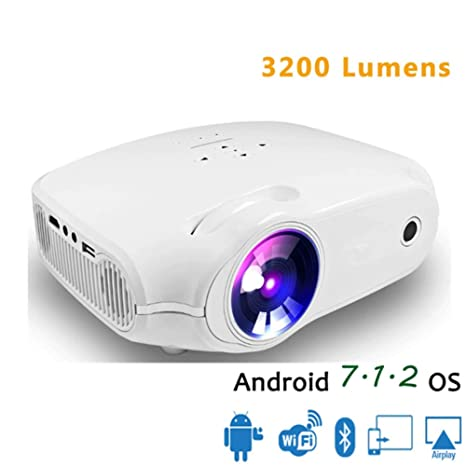 Amazon.com: LLVV LED Projector for Full HD 4K2K Video ...