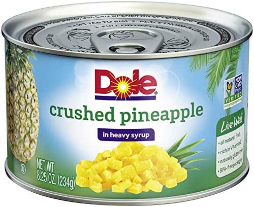 Dole in Heavy Syrup
