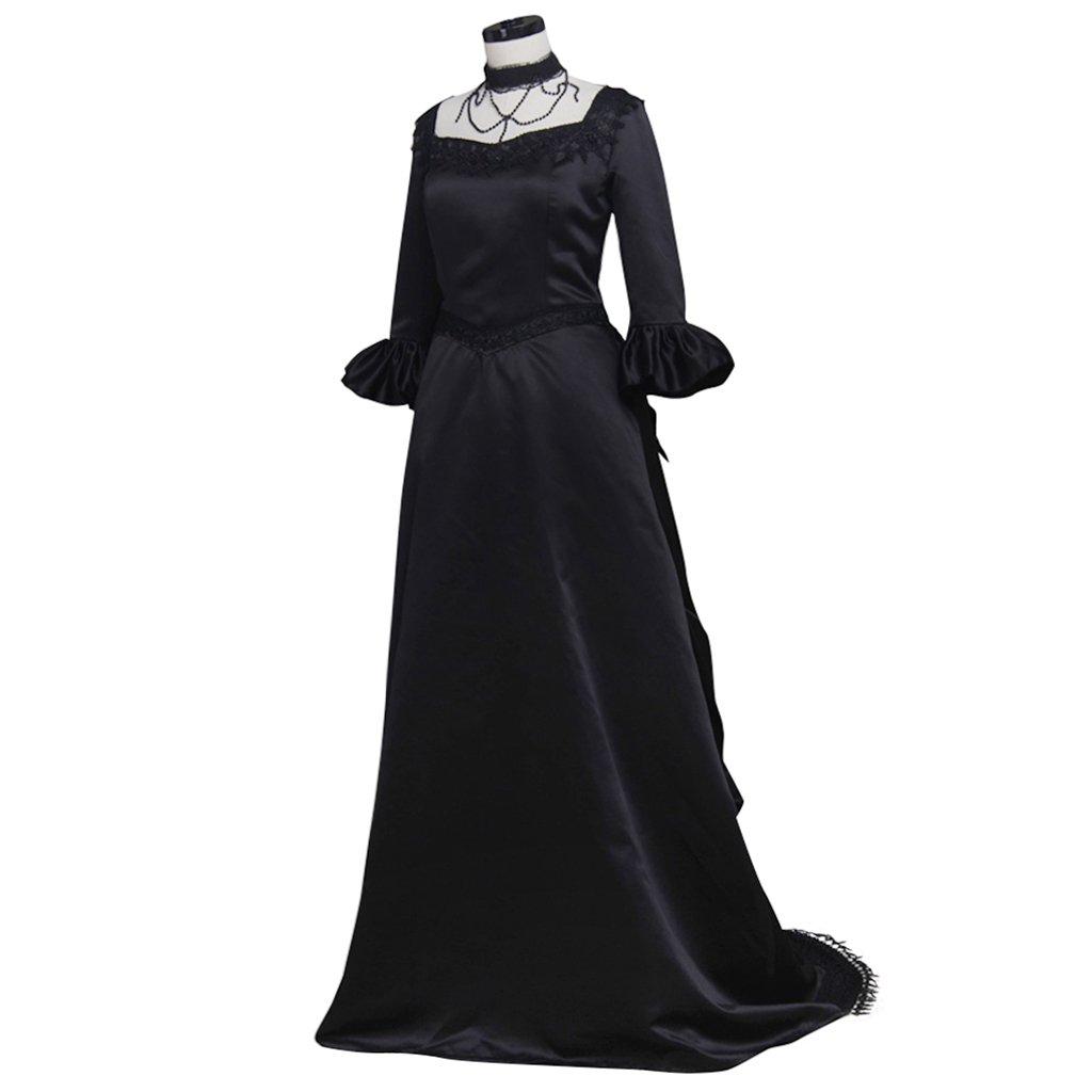 Steampunk Dresses | Women & Girl Costumes 1791s lady Womens Halloween Victorian Drawstring Bodice Dress $107.01 AT vintagedancer.com