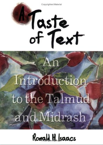 A Taste of Text: An Introduction to the Talmud and Midrash PDF