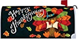 Colorful Turkey - Mailbox Makeover - Vinyl with Magnetic Strips - Licensed, Copyrighted and Made in the USA by Custom Decor Inc.