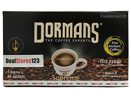 Dealstores123 (Coffee | Instant - Dormans - Kenya, 36 Sachets) Supreme | Sold only by Dealstores123