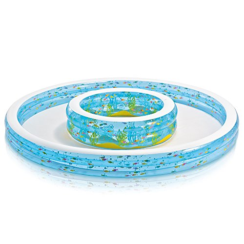 Intex Wishing Well Swim Center Pool, 110″ x 14″, for Ages 2+