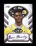 BARON BROWNING OHIO STATE BUCKEYES 2017 LEAF U.S. ARMY HIGH SCHOOL TOUR ALL-AMERICAN AUTOGRAPHED ROOKIE CARD!