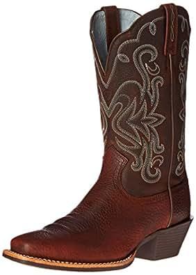Ariat Women's Legend Western Cowboy Boot, Brown Oiled Rowdy, 5.5 B US