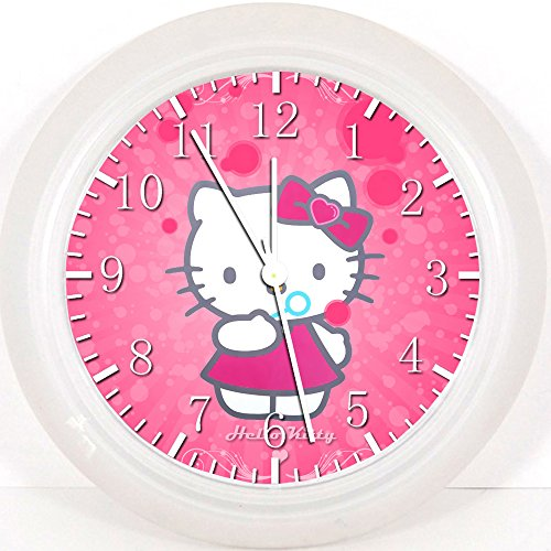 Pink Hello Kitty Wall Clock