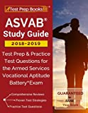 img - for ASVAB Study Guide 2018-2019: Test Prep & Practice Test Questions for the Armed Services Vocational Aptitude Battery Exam book / textbook / text book