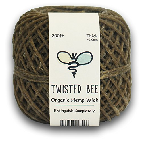 100-Organic-Hemp-Wick-with-Natural-Beeswax-Coating-Twisted-Bee