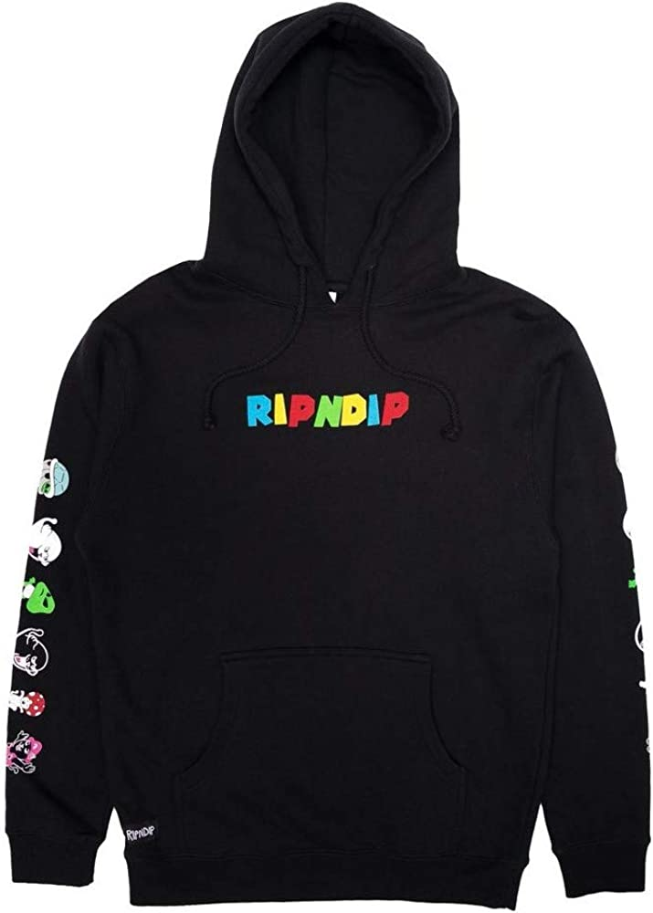 RIPNDIP Black Nermio hoodie