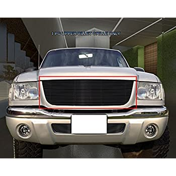 Fedar   Ford Ranger Edge Xlt Replacement Style Billet Grille Grill  Pc Set Black