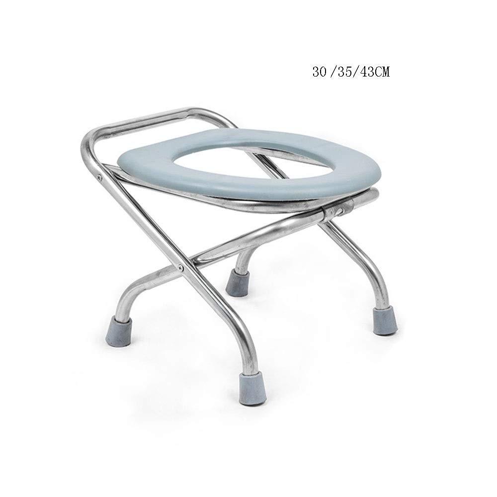 XSJZ matongdeng 便座、背もたれなし折りたたみ式補強滑り止めトイレ家庭用トイレモバイルトイレチェアスツール 便座とフレーム (色 : 1, サイズ さいず : 35 cm 35 cm) B07SD4KWJ1 1 35 cm 35 cm