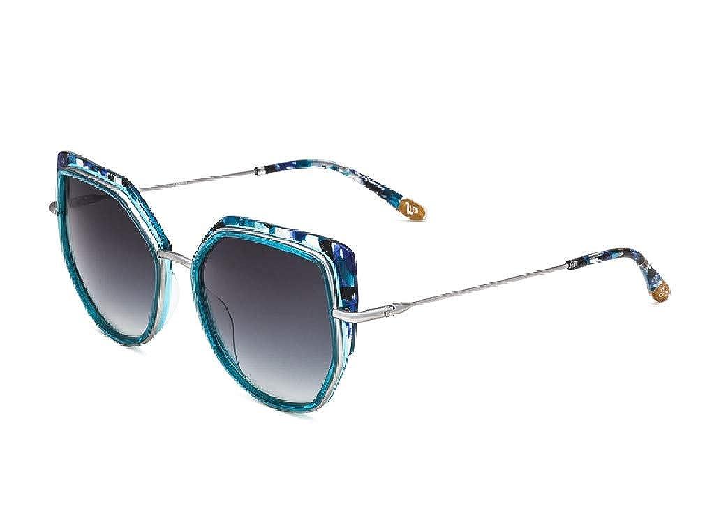 Woodys Barcelona - Gafas de sol - para mujer Azul turquesa L ...