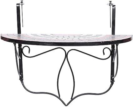 Zoternen Table de Balcon Suspendue Table Suspendue