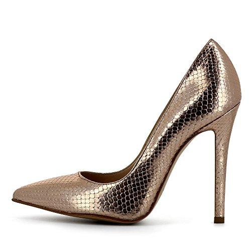 Evita Shoes Lisa - Zapatos de vestir de Piel para mujer altrosa