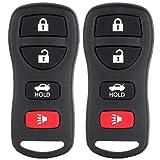 ECCPP® 2 Keyless Entry Remote Control Car Key Fob Replacement for 2005-2014 Altima and Maxima KBRASTU15, CWTWB1U733