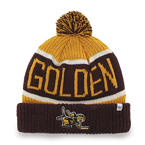 University of Minnesota Gophers Calgary Knit Stocking Hat/Cap (Gopher Hockey Hat)