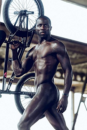 f9a43e0bf9c1ba 24x36 inch Nigel Sylvester Naked Silk Poster 5GS8-99D  Amazon.co.uk   Kitchen   Home
