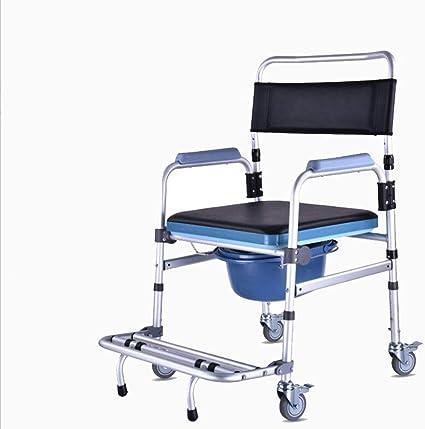 Multi-función caminar coche móvil inodoro aumentado portátil pedal silla de ruedas mujeres embarazadas ducha