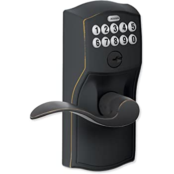 Yale Z Wave Real Living Keyless Touchscreen Lever Lock