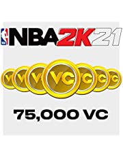 NBA 2K21: 75,000 VC - PS4 [Digital Code]