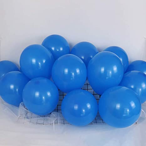 """5/"""" inch BLUE  Small Round Latex Best Balloons Quality Standard  ballon Colour"""