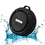 Portable Bluetooth Wireless Waterproof/Resistant Speakers. Use Speaker In The Shower, Bathroom or Beach.  Connect To an Android, iPhone, Mobile Phone or Computer