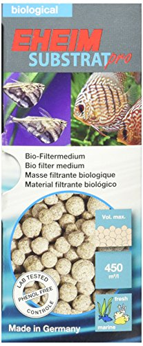 Eheim Substrat Pro Biological Filter Media (Sintered Pearl-Shaped Glass) - Glass Sintered