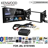 Volunteer Audio Kenwood DDX9904S Double Din Radio Install Kit with Apple CarPlay Android Auto Bluetooth Fits 2007-2014 Toyota FJ Cruiser with Amplified System