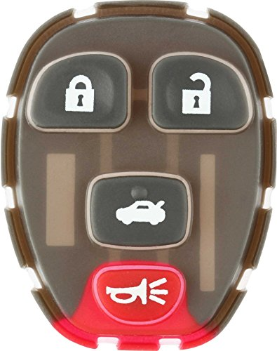 Discount Keyless Replacement 4 Button Pad 15252034 22733523 ()