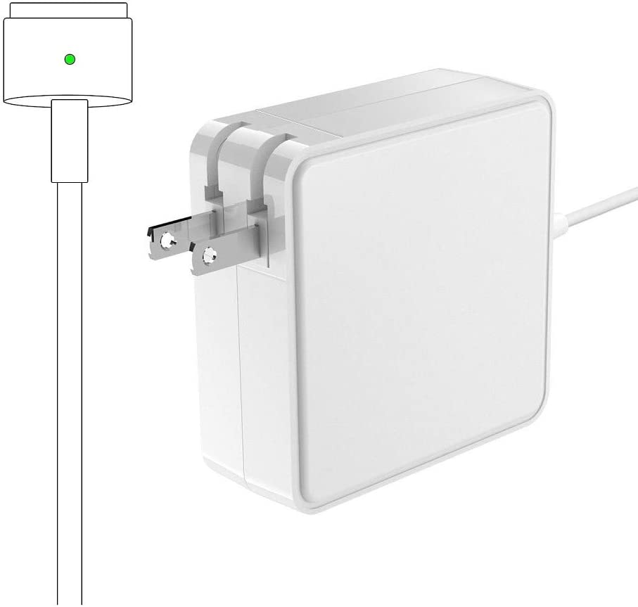 Mac Book Pro Charger, 85W T-Tip Power Adapter Charger Replacement for MacBook Pro 17/15/13 Inch (Made After Mid 2012)