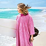 Catalonia Hooded Surf Poncho,Water Absorbent