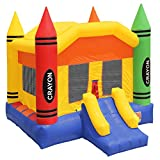 bounce house commercial - Inflatable HQ Commercial Grade Crayon Bounce House with Blower