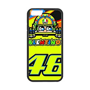 iPhone 6 4.7 Inch Cell Phone Case Black Valentino Rossi MDN Phone Case Clear
