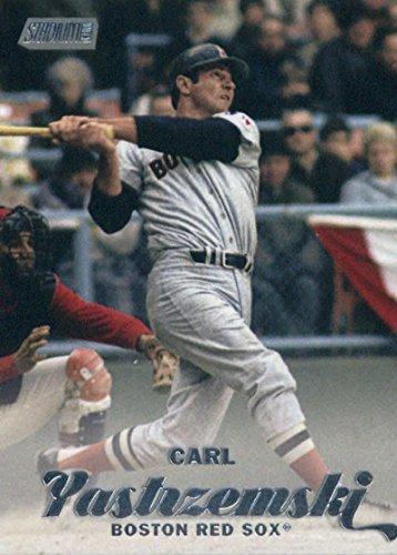 2017 Topps Stadium Club #242 Carl Yastrzemski Boston Red Sox Baseball Card