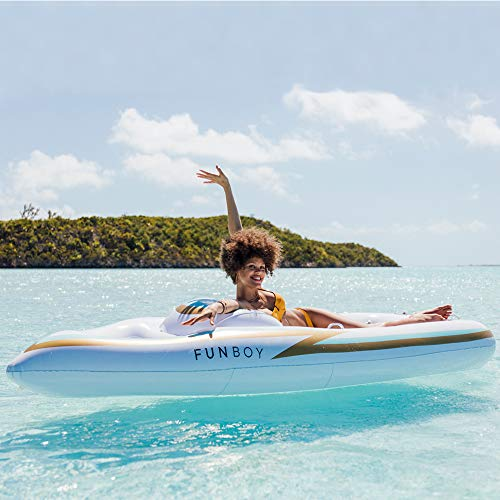 FUNBOY Giant Inflatable Yacht Pool Float by FUNBOY (Image #4)